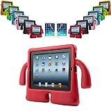 REALMAX 3D pour enfant Motif Coque de protection antichoc avec support pour Apple iPad 2/3/4