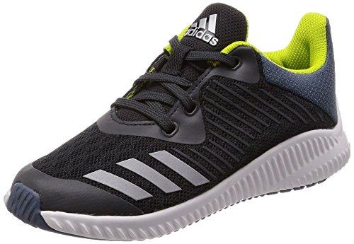 adidas Unisex-Kinder FortaRun Gymnastikschuhe, Grau (Carbon S18/Silver Met./Raw Steel S18), 36 2/3 EU