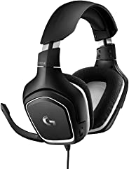 Logitech G332 Wired Gaming Headset Special Edition, Stereo Audio, 50 mm Audio Drivers, 3.5 mm Audio Jack, Flip-to-Mute Mic, R