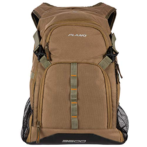Plano E-Series 3600 Tackle Rucksack, inklusive DREI 3600 Aufbewahrungsfächern, Unisex-Erwachsene, E-Series 3600 Tackle Backpack, with Three 3600 Stowaway Tackle Organization Boxes, olivgrün, 3600