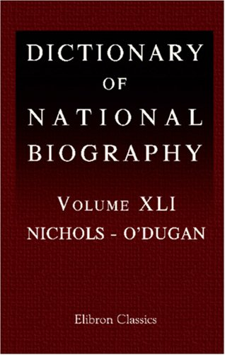 Dictionary of National Biography