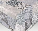 Tischdecke Acryl Teflon beschichtet abwischbar, bedruckt Castillo, RUND OVAL ECKIG, Größe wählbar (eckig 110 x 140 cm)