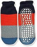 FALKE Jungen Socken Colour Block, Mehrfarbig (Navyblue M 6490), 39 (Herstellergröße: 39-42)
