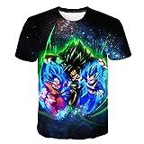 Yuxua Goku Dragon Ball Z 3D T-Shirt Sommer Hipster Kurzarm T Tops Männer/Frauen Anime T-Shirts-in TX-1935 S