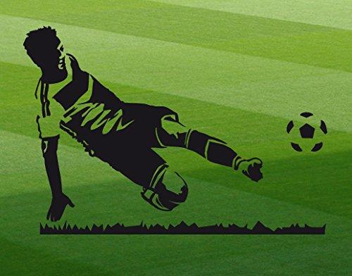 Sport universumsum studio da calcio-giocatore wal218, Blu reale, 70 x 48 cm
