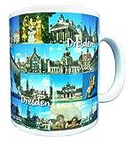 Tasse Sehenswürdigkeiten Dresden Kaffeetasse Kaffeepot Teetasse Krug mit Henkel