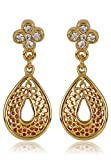 Estelle Gold Plated Dangling Earring Wit...