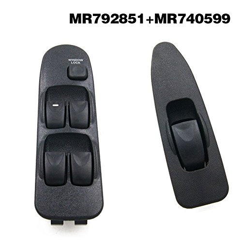 Beaums 6490.EH Auto elettrica Regolatore della Finestra Switch Sostituzione Finestra Anteriore Destro per Peugeot 207