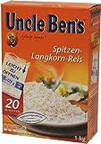 Uncle Bens 20 Minuten Reis im Kochbeutel 1kg