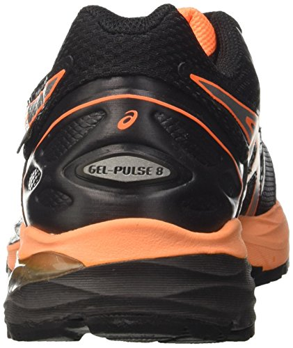 Hot Gel Tx Asics Orange G Schwarz 8 Silver Herren Black Trainingsschuhe Pulse Nero q4qnAp1