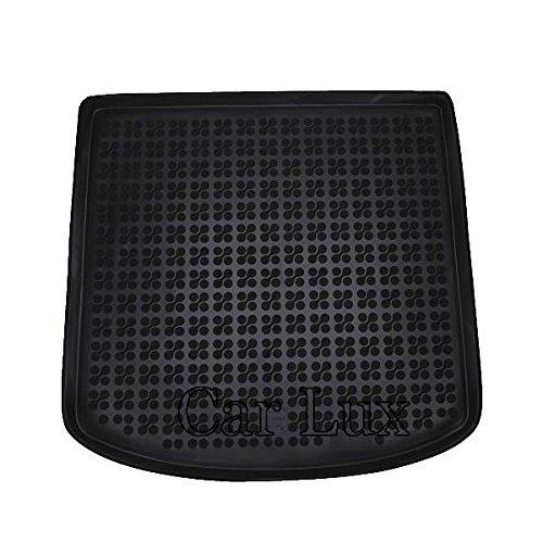 Car Lux AR02152 - Alfombra Cubeta Protector cubre maletero de goma y enrollable PREMIUM