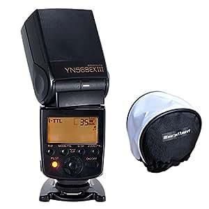 Yongnuo 568ex III yn568III E-TTL HSS Flash Flash avec wecellent Mini Boîte à lumière pour Nikon