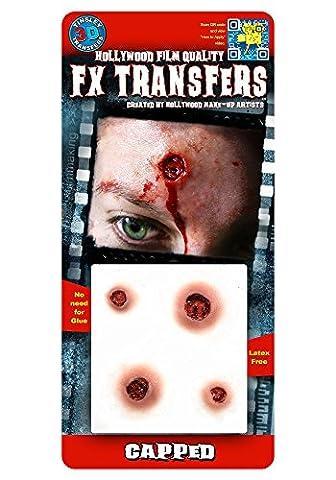 Plafonnés - Transferts Tinsley - Tatouages ??de Hollywood .