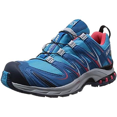 SalomonXA Pro 3D GTX - zapatillas de trekking y senderismo de media caña Mujer