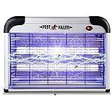 infinitoo Lampe Anti Moustique, UV LED Répulsif Tueur de Moustiques Intérieur Efficace Portée 60m² Pièges à Mouche…