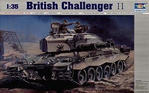 Trumpeter 308 - Maqueta de Tanque Challenger II británico Importado de Alemania