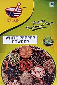 Delsin spices White Pepper Powder 100gm