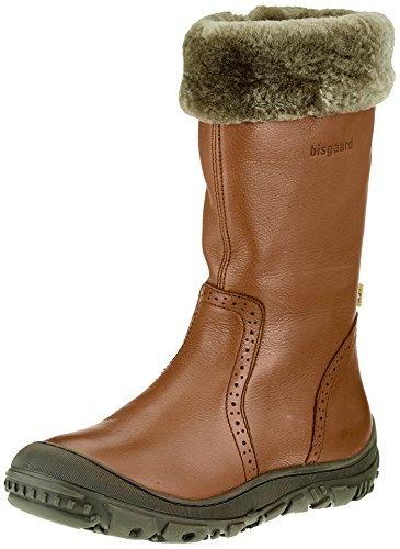 Bisgaard Mädchen 60621218 Hohe Stiefel, Braun (508 Cognac), 37 EU