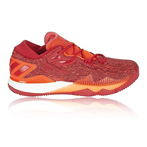 the best attitude e5c2c d7f75 wholesale chaussures adidas crazylight boost low ground rouge a57ab acd07