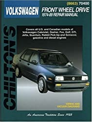 Volkswagen Golf, Jetta, (Including GTI), Scirocco and Caddy (1974-89) (Chilton Total Car Care)