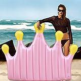 Yool Sich Hin- und Herbewegende Reihe der Kronenschwimmens, Schwimmende Reihe Schwimmende Aufblasbare Spielwaren des Sommerstrandschwimmbeckens