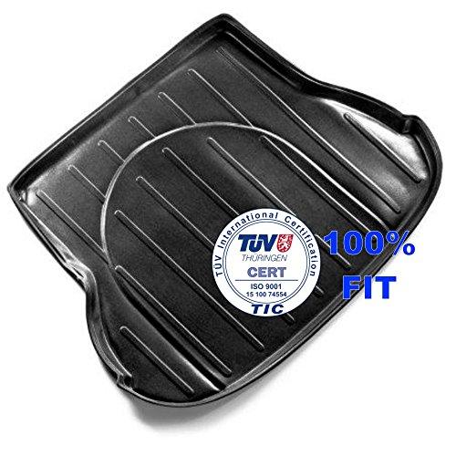 DK6092 - Kofferraumwanne, Kofferraummatte, Gummimatte geeignet für ELANTRA Limousine, Hochwertige Qualität, Passform 2012 Hyundai Elantra Fußmatten