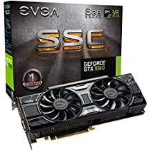 EVGA GeForce GTX 1060 6GB SSC Gaming ACX 3.0, 6GB GDDR5, LED, DX12 OSD Support (PXOC) Carte Graphique 06G-P4-6267-KR