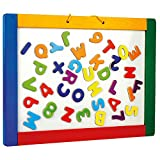 BINO 83651 - Magnetische Hängetafel mit Buchstaben