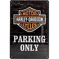 Nostalgic-Art 22231 Harley-Davidson - Parking Only, Blechschild 20x30 cm