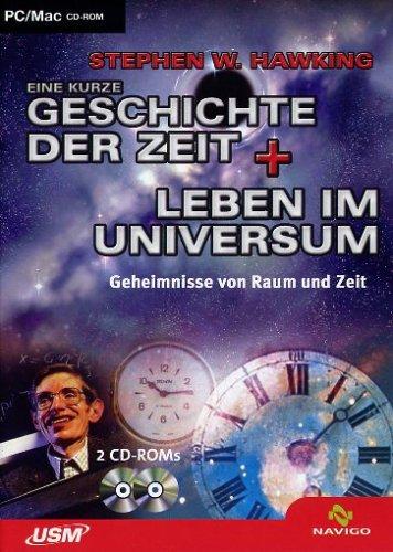Stephen W. Hawking. Eine kurze Geschichte der Zeit + Leben im Universum