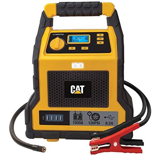 Tragbarer Auto-Starthilfe-Starthilfe-Starthilfe und Kompressor mit 1000 Spitzen Peak Amp Batterie
