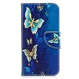 Tosim Coque Galaxy A5 2017 / A520 Cuir PU Etui Flip Case Housse Portefeuille avec Porte Carte Support et Fermeture Magnétique...