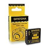 Bateria Panasonic CGA-S005 / Fuji NP-70 / Leica BP-DC4 / Pentax D-Li106 / Ricoh DB-60 | DB-65 para Panasonic Lumix DMC-FC01 | FX01 | FX3 | FX07 - 10 | FX50 | FX100 | FX150 | FX180 | LX1 - 3 | LX9