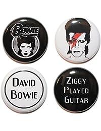 Button Zombie - Broche Negro blanco y negro small