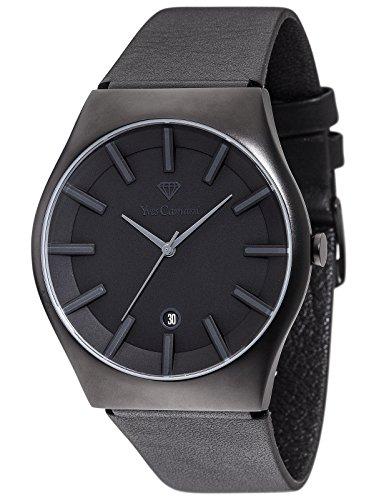 Yves Camani Loann - Reloj para hombre, color negro