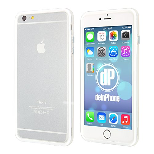 """deinPhone Étui pour iPhone 6(4,7"""") Bumper Weiß"""