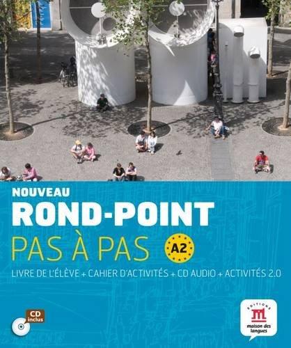 Nouveau Rond-Point pas à pas A2 : Livre de l'élève (1CD audio)