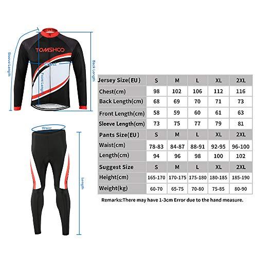Zoom IMG-1 tomshoo completo ciclismo abbigliamento set