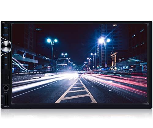 Tristan Auron BT2D7025A Autoradio mit Android 10.0, 7'' Touchscreen Bildschirm, GPS Navi, Bluetooth Freisprecheinrichtung, Quad Core, MirrorLink, USB/SD, OBD 2, DAB+, 2 DIN
