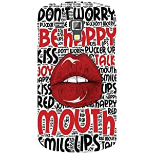 Samsung Galaxy S Duos 7582 Shut Your Mouth Matte Finish Phone Cover - Matte Finish Phone Cover