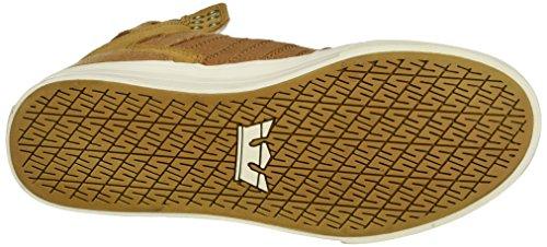 Supra Herren Skytop Sneaker Gelb (Tan-Bone)