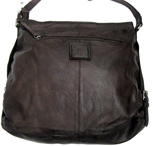 Billy the Kid Marokko Alia Triangle Sac à main - Fourre-tout cuir 41 cm brown