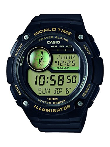 Watch Time Casio World (Casio Collection Unisex-Armbanduhr CPA-100-9AVEF)