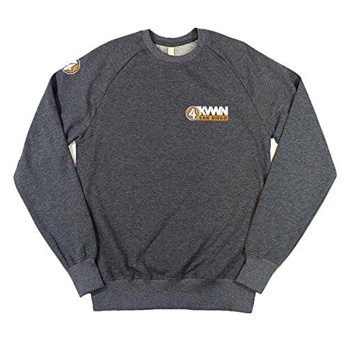 anchorman-kvwn-channel-4-news-mens-sweatshirt-luxury-m-dark-heather