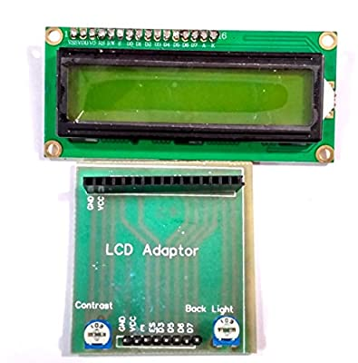 16x2 LCD Adapter (Board) for Arduino,PIC, AVR, ARM etc