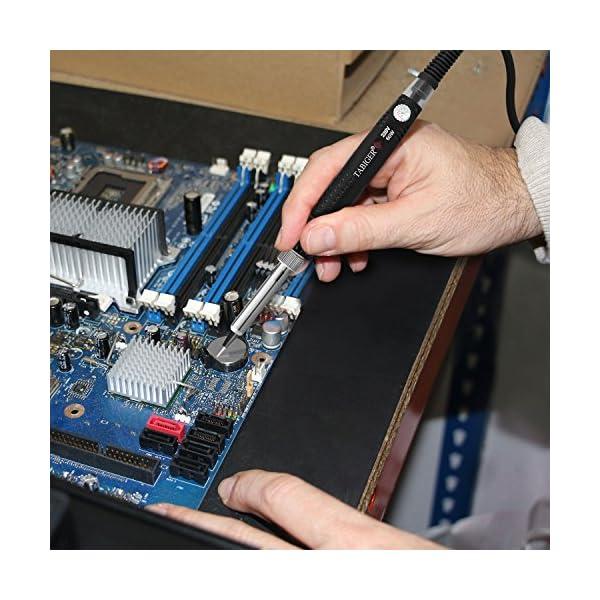 Tabiger Soldador de Estaño con Temperatura ajustable y Interruptor de