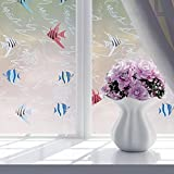 #10: Lovely 8 styles Glass Balcony Sliding Door Bathroom Privacy Window Film Paper Glass Waterproof Stickers Translucent 60*200cm 1