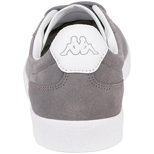 Kappa Legend, Sneaker Unisex – Adulto Grigio (1610 grigio/bianco)