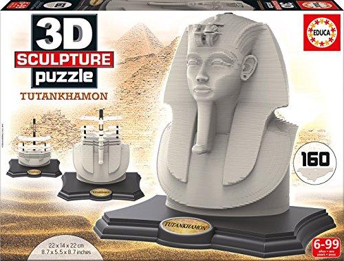 Educa 16503 - 3D Sculpture Puzzle Tutankhamon
