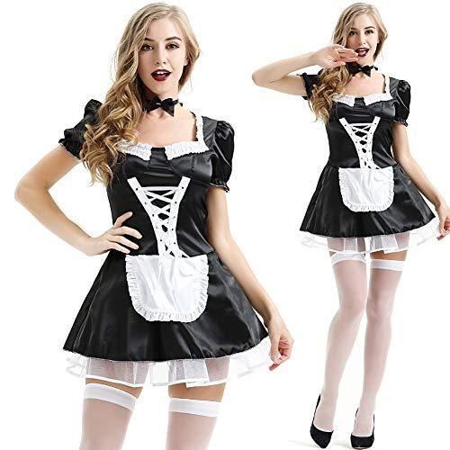 Cosplay-Kostüm, französisches Dienstmädchen, Erwachsenenschürze, Kostüm, Kostüm, Kostüm, Kostüm, Kostüm, Übergröße M - XXXL xxl Xxl